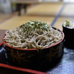 袋田の滝の近くにある手打ち石臼そばの「ふじた」で美味しいおそばを食べてみた 『夏の青春18きっぷの旅2015夏 茨城編』 その3