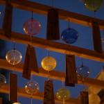 マジックアワー、ブルーモーメント、そして夜の風鈴がある風景 『川越氷川神社 縁むすび風鈴 2015』 その3(最終回)