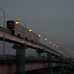 【Tokyo Train Story】多摩の夕暮れ(多摩モノレール)