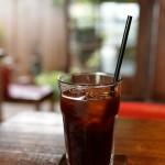 栃木県の鹿沼にある日光珈琲朱雀というカフェに再訪して、アイスコーヒーを飲みながら井戸ポンプを眺めてみた 『夏の青春18きっぷの旅2015 栃木編』 その8(最終回)