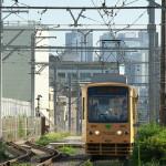 【Tokyo Train Story】都電荒川線の沿線工事風景