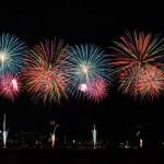 【速報】諏訪湖の花火大会で撮影した花火写真6枚