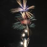 諏訪湖上を約2000発の花火が彩る長野県岡谷市のとうろう流し花火まつり 『夏の長野旅2015』 その8