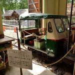 かつて森の中を走り巡った木曽森林鉄道の貴重な車両が展示されている赤沢森林鉄道記念館 『夏の長野旅2015』 その24