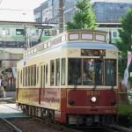 【Tokyo Train Story】都電のレトロ風車両と山手線の立体交差