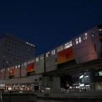 【Tokyo Train Story】ブルーモーメントと夜の街(多摩モノレール)
