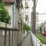 【Tokyo Train Story】線路際の細道(都電荒川線)