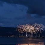 諏訪湖上で花開く、美しい花火の舞 諏訪湖祭湖上花火大会(前編) 『夏の長野旅2015』 その3