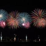 諏訪湖上で花開く、美しい花火の舞 諏訪湖祭湖上花火大会(後編) 『夏の長野旅2015』 その4