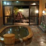 ホテル木曽路の開放感あふれる大浴場の露天風呂と広々とした貸切風呂 『夏の長野旅2015』 その18