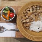 【カフェ】谷中のkokonnで台湾料理の魯肉飯を食べてきた!