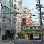 【Tokyo Train Story】谷田川を越える山手線