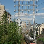 【Tokyo Train Story】鉄塔がある風景(東急池上線)