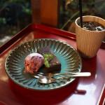 【カフェ】谷中にあるお気に入りカフェのkokonnでガトーショコラとブルーベリーのアイスを食べてみた