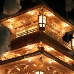 池上本門寺の総門前と此経難持坂での万灯練行列 『平成27年度 池上本門寺のお会式』 その4