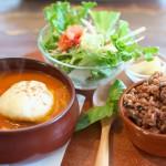 【カフェ】体に優しい食材を美味しくアレンジする川越のLightning cafeで煮込みハンバーグを食べてみた 『川越まつり2015』 その4 #川越まつり