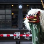 太田道灌の人形を掲げる連雀町の山車で獅子舞の激しい舞を目撃した! 『川越まつり2015』 その3 #川越まつり