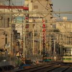 【Tokyo Train Story】線路工事区間の夕暮れ風景(都電荒川線)