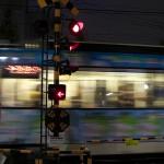 【Tokyo Train Story】夜の踏切(都電荒川線)
