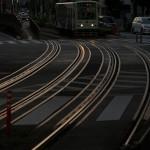 【Tokyo Train Story】夕暮れ時の主役となる路面電車の線路(都電荒川線)