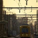 【Tokyo Train Story】黄色い車両の前照灯(都電荒川線)