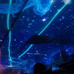 越後湯沢から水上までを走るゆめぞらループ号の車内で、天井で繰り広げられる星空などの幻想的な映像美を堪能した!『新潟・群馬紅葉紀行 2015』 その7