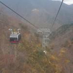強風と寒さの中、谷川岳の紅葉を眺めて旅が終わる『新潟・群馬紅葉紀行 2015』 その14(最終回)