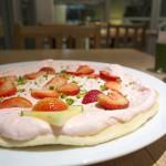 【カフェ】原宿のモエナカフェででっかくて甘くて美味しいいちご&ミルクパンケーキを食べてみた