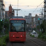 【Tokyo Train Story】夕暮れ時の後ろ姿(都電荒川線)