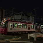 【Tokyo Train Story】夜の町屋駅前の風景(都電荒川線)