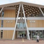 温泉施設のゆぽっぽや足湯も健在!石巻線の新生女川駅を訪問してみた 『秋の宮城への旅 2015』 その2