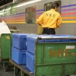 【Tokyo Train Story】荷物の積み込み作業(寝台特急カシオペア)