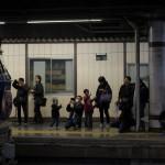 【Tokyo Train Story】寝台特急カシオペアの機関車前は大混雑
