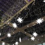 クリスマス一色の仙台駅前の風景とAER展望テラスからの夜景 『仙台カフェ巡りの旅』 その1