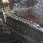東北新幹線が真下に見える!アパヴィラホテル 仙台駅五橋は最高のトレインビューホテルだった 『仙台カフェ巡りの旅』 その2
