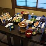 焼き鮭に日本の朝ごはんらしさを感じさせられる奈良屋旅館での朝食 『信州野沢温泉への旅』 その12