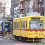 【Tokyo Train Story】新旧都電のすれ違い