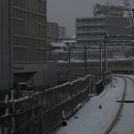 【Tokyo Train Story】雪の白い世界の中を走る山手線