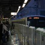 【Tokyo Train Story】雪の日の大塚駅ホームにて(山手線)