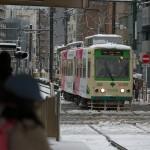 【Tokyo Train Story】雪の日の都電荒川線向原電停