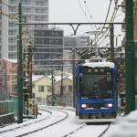 【Tokyo Train Story】都電荒川線の新型車両8900形が雪の中を走る!
