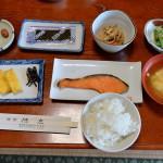 シンプルな和定食の安定感!旅館徳左での朝食 『 #tokyo島旅山旅 で神津島に行こう!』 その12 #神津島