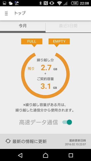 楽天モバイルSIMアプリ