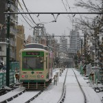 【Tokyo Train Story】雪景色の中去りゆく都電荒川線