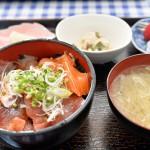 神津島温泉保養センター内のレストランで出てくるづけ丼と海鮮丼はこんなに豪華! 『 #tokyo島旅山旅 で神津島に行こう!』 その29 #神津島