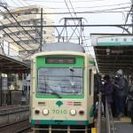 【Tokyo Train Story】冬の着膨れ(都電荒川線)