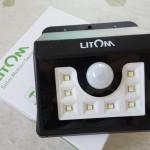 人が近づくとセンサーに反応してライトがオン!玄関先にLitomのソーラーLEDライトを設置してみたら安心安全が増しました!