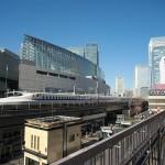 【Tokyo Train Story】有楽町の東京交通会館は東海道新幹線を撮るお勧めスポット