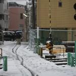 【Tokyo Train Story】雪の轍(都電荒川線)