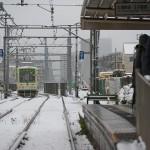 【Tokyo Train Story】雑司ヶ谷の雪景色(都電荒川線)